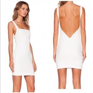 Solace London white mini dress sz 2
